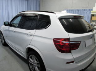 BMW X3 カーフィルム施工